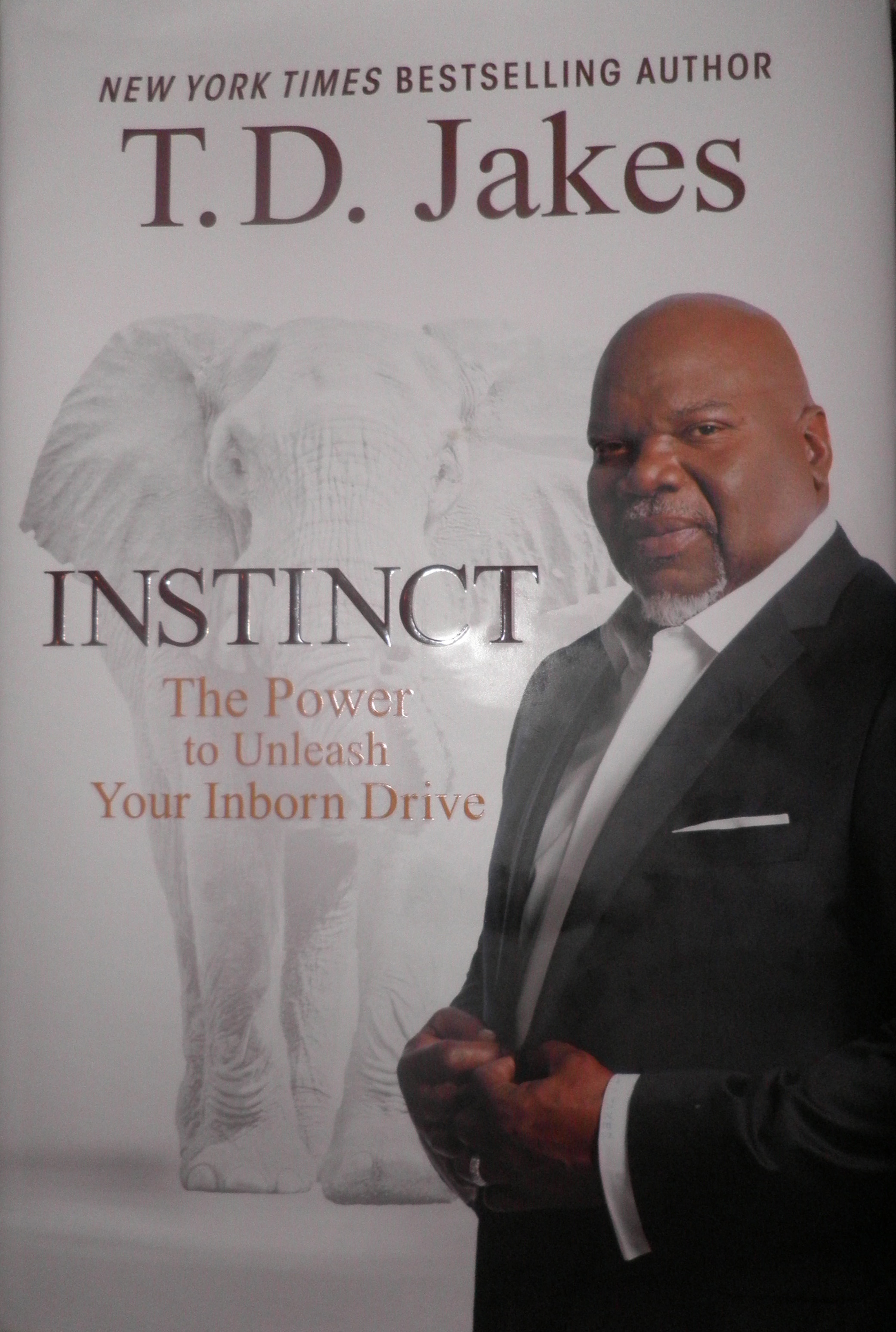 LIVING BY INSTINCT: T D  JAKES ANSWERS THE QUESTION – CAN